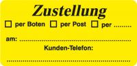 Zustellung / per Boten /per Post / per ...