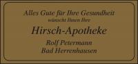 """Gold-Etikett """"Alles Gute für Ihre Gesundheit"""""""