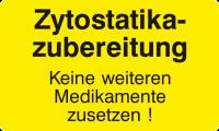 Zytostatika-Zubereitung - Keine weiteren Medikamente zusetzen
